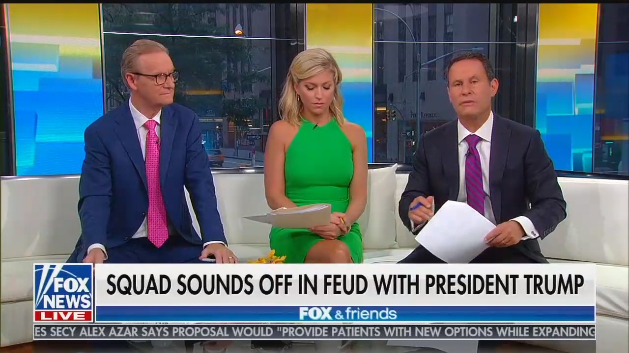 "Fox's Kilmeade: It's ""inaccurate"" to label Trump a racist for his racist tweets targeting women of color"