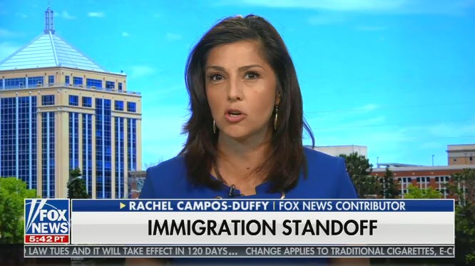 """Fox contributor says people opposing ICE are """"doing the work of the cartels"""" and fulfilling """"the wish list for human sex traffickers"""""""
