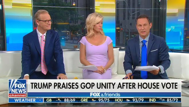 "Fox's Brian Kilmeade says ""calling the president a racist"" for his racist tweets is ""personally offensive"""