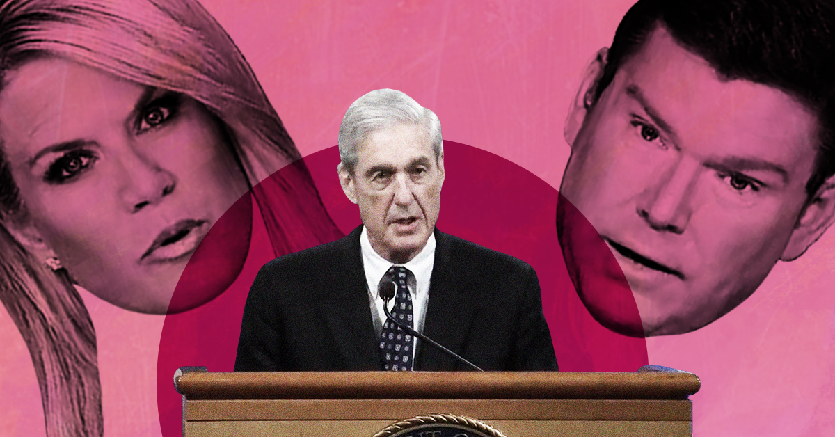 The Fox News anchors of the Robert Mueller hearings have