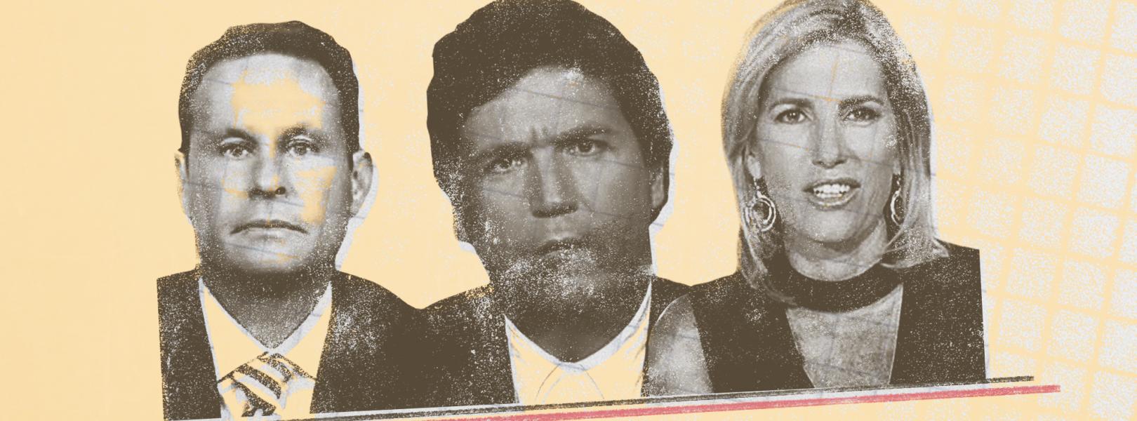 Brian Kilmeade, Tucker Carlson, Laura Ingraham
