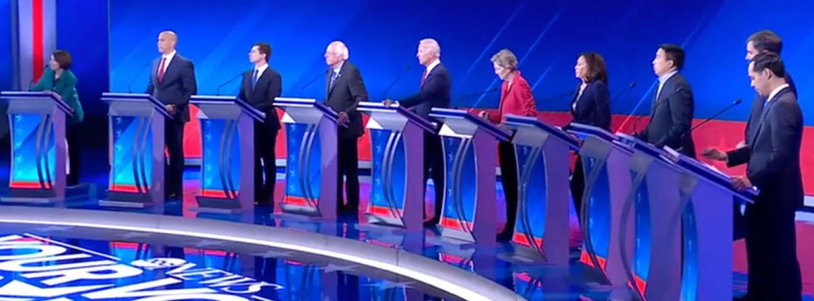 ABC dem debate