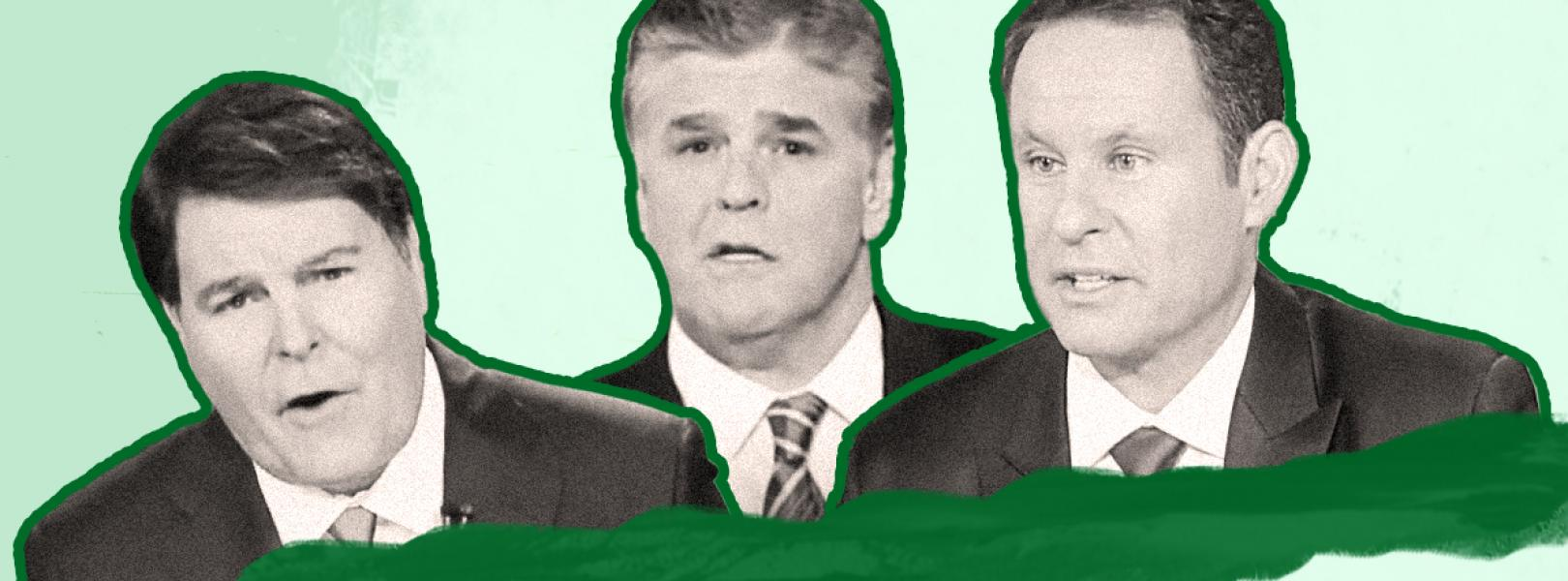Gregg Jarrett, Sean Hannity, Brian Kilmeade