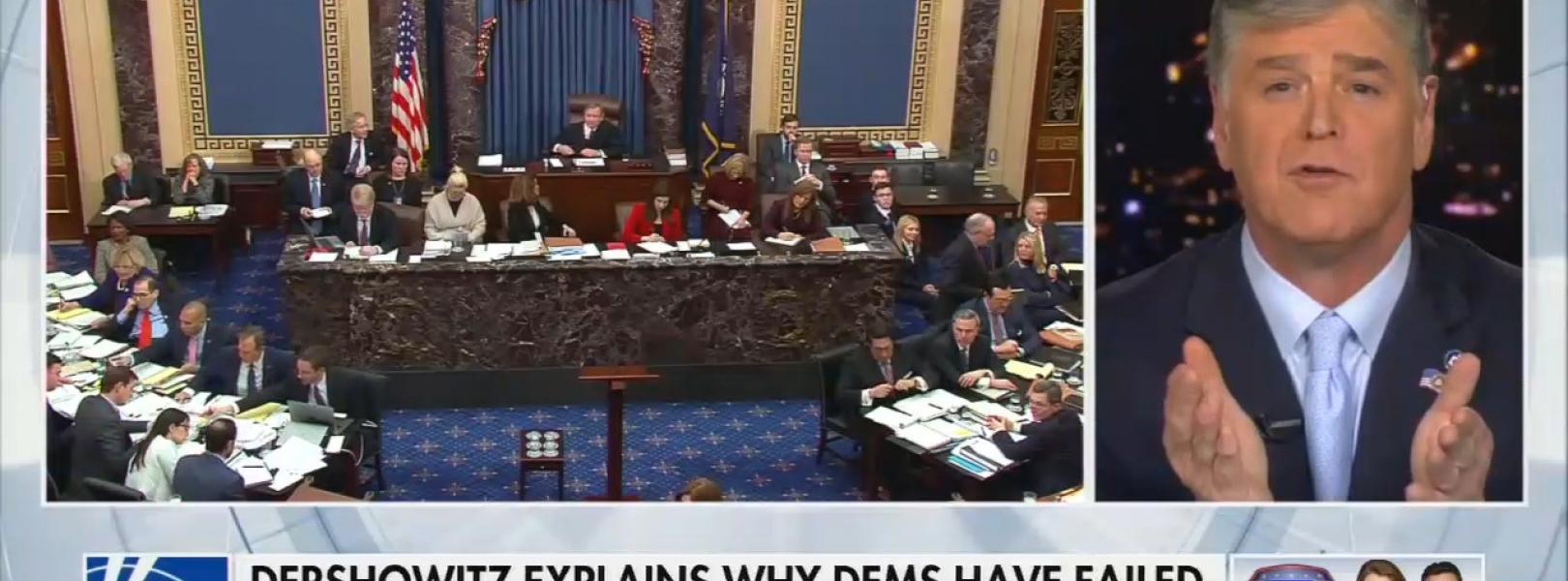Sean Hannity impeachment trial