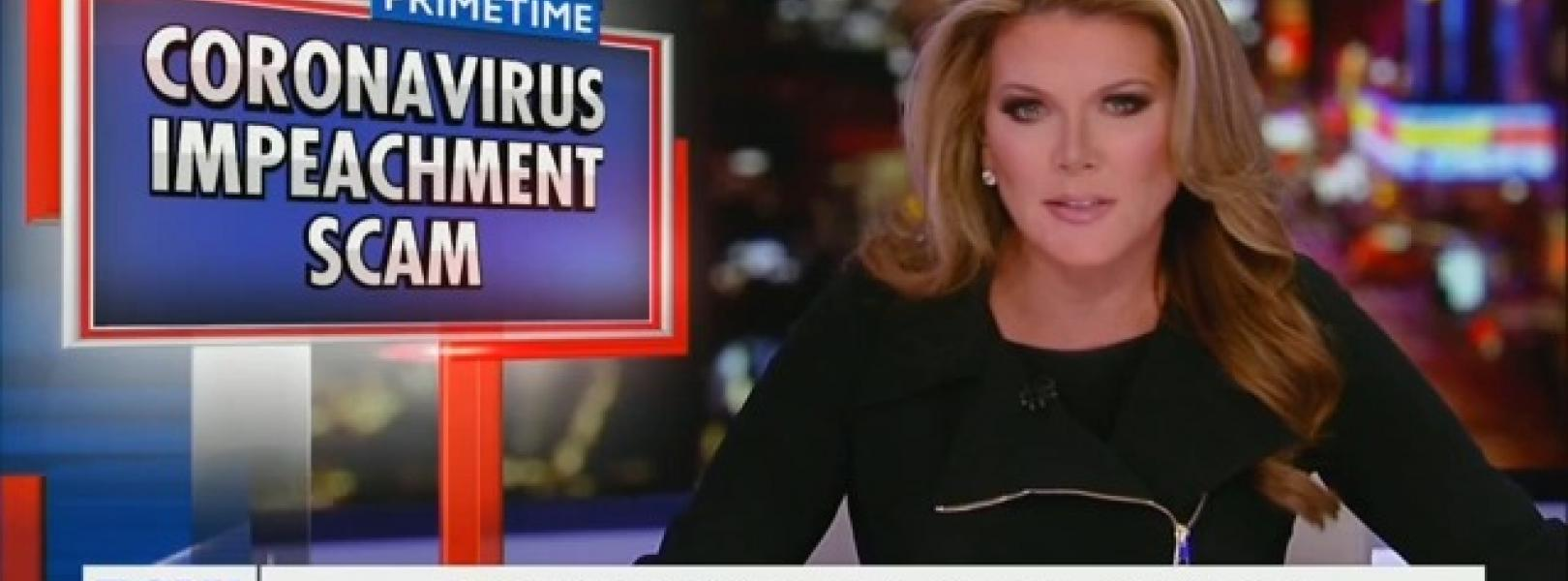 "Trish Regan says Democrats are using coronavirus as ""another attempt to impeach the president"""