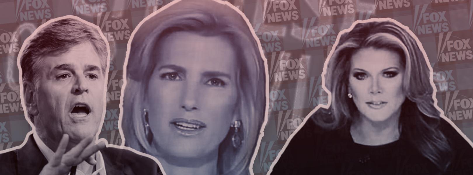 Sean Hannity, Laura Ingraham, and Trish Regan