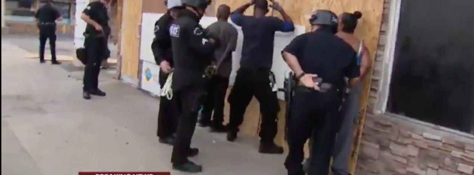 Police arrest family in Van Nuys