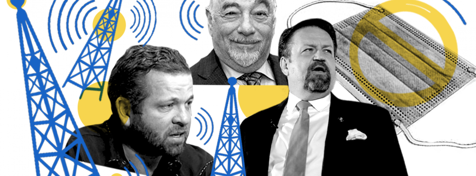 Michael Savage, Michael Berry and Sebastian Gorka