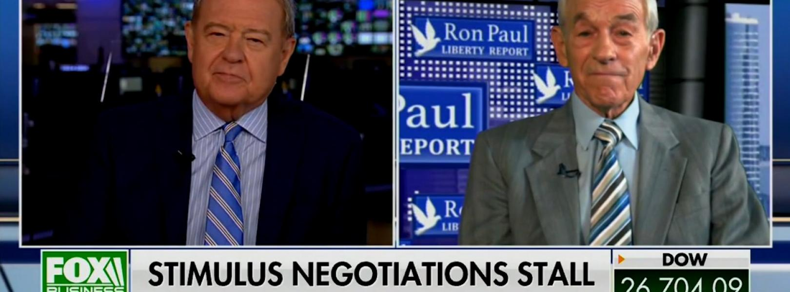 Ron Paul Stuart Varney 8/3/20