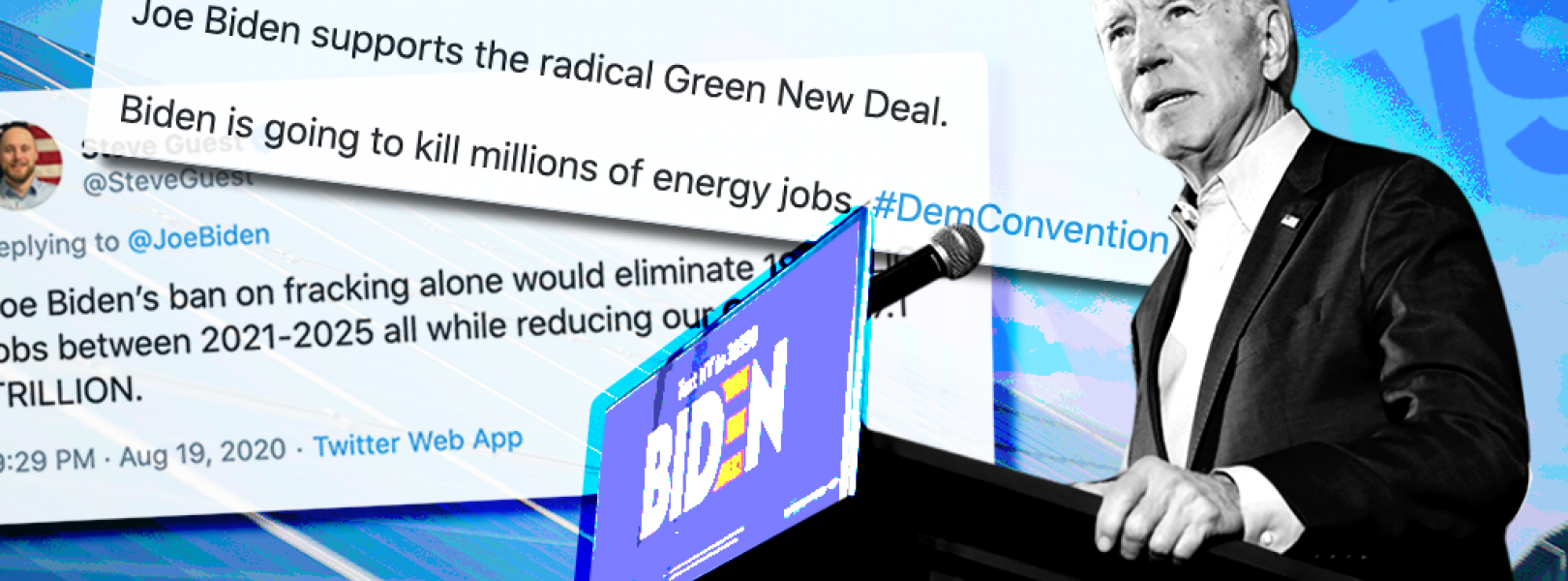 Right-wing media lie about Biden's climate plan