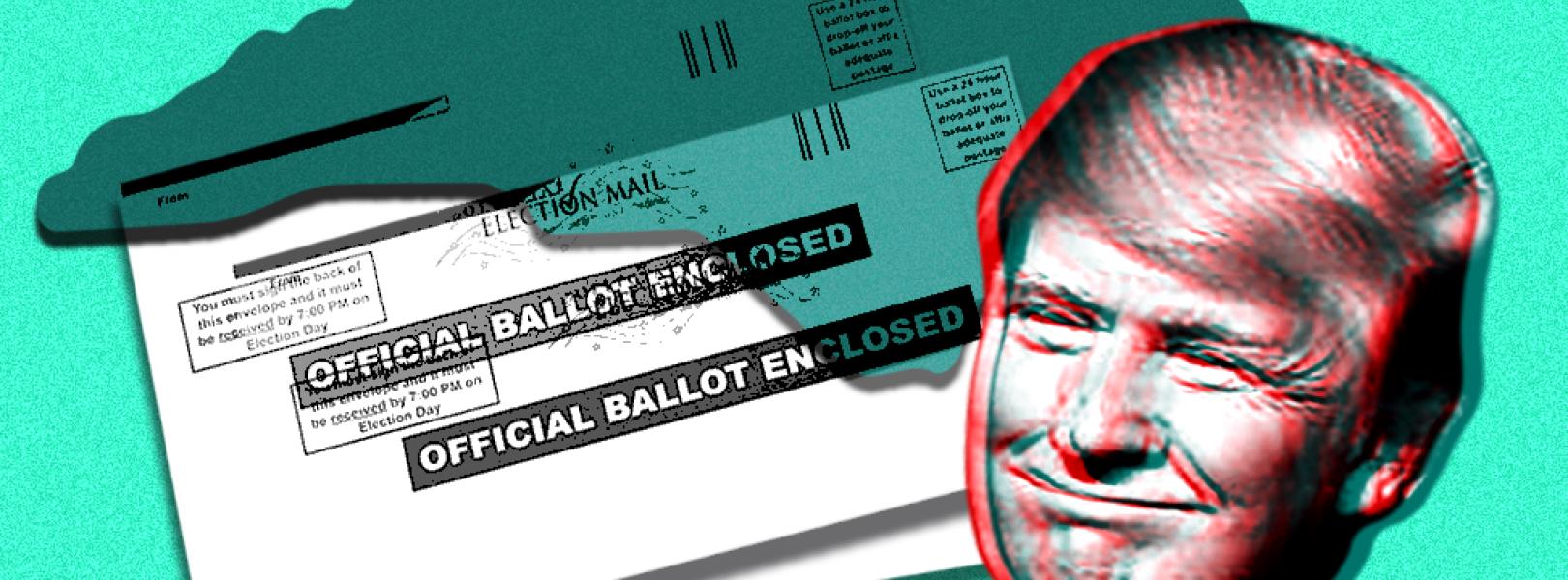Trump, North Carolina, and some mail-in ballots