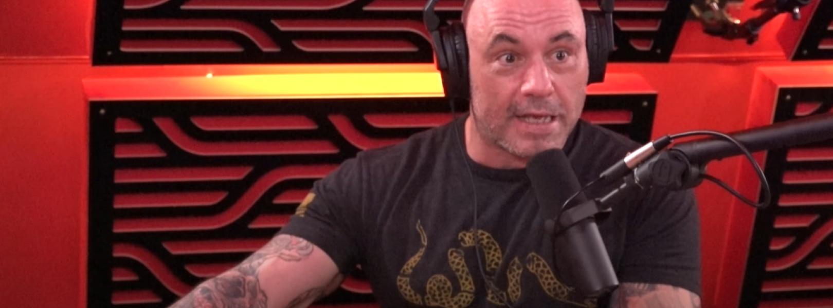 Joe Rogan in a black shirt