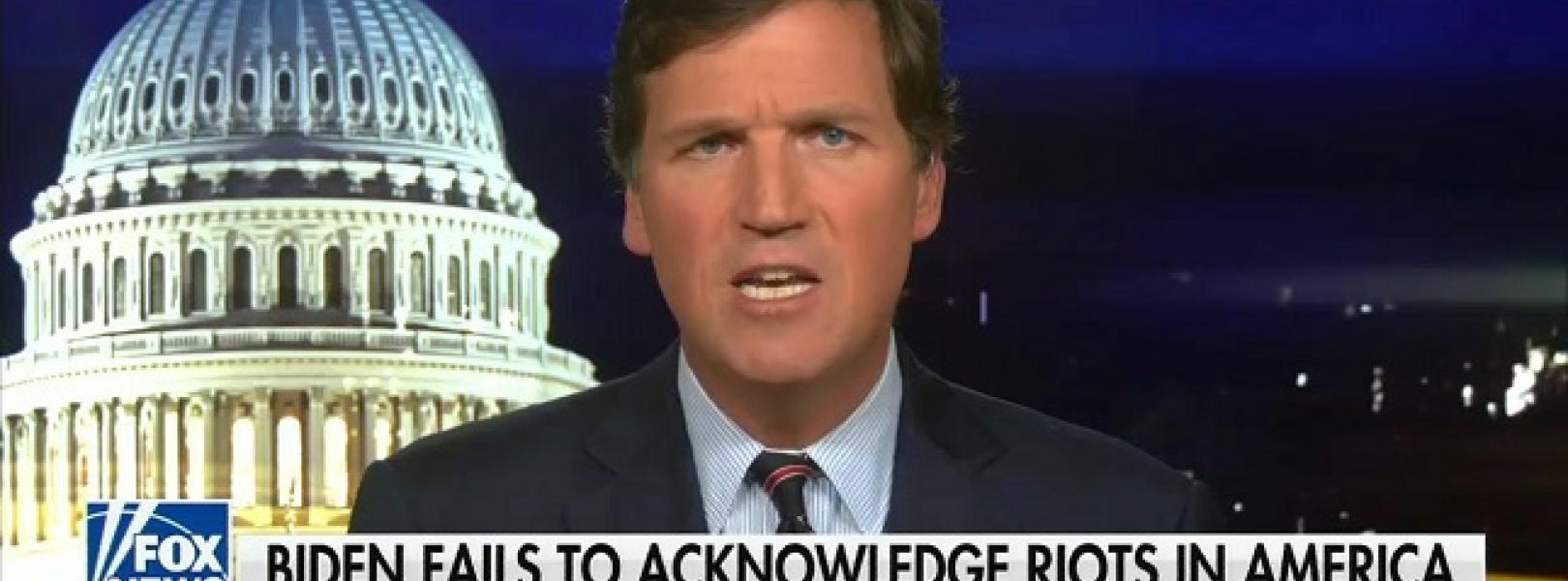 "Tucker Carlson calls concern about white supremacist inspired violence ""crazier than any conspiracy"""