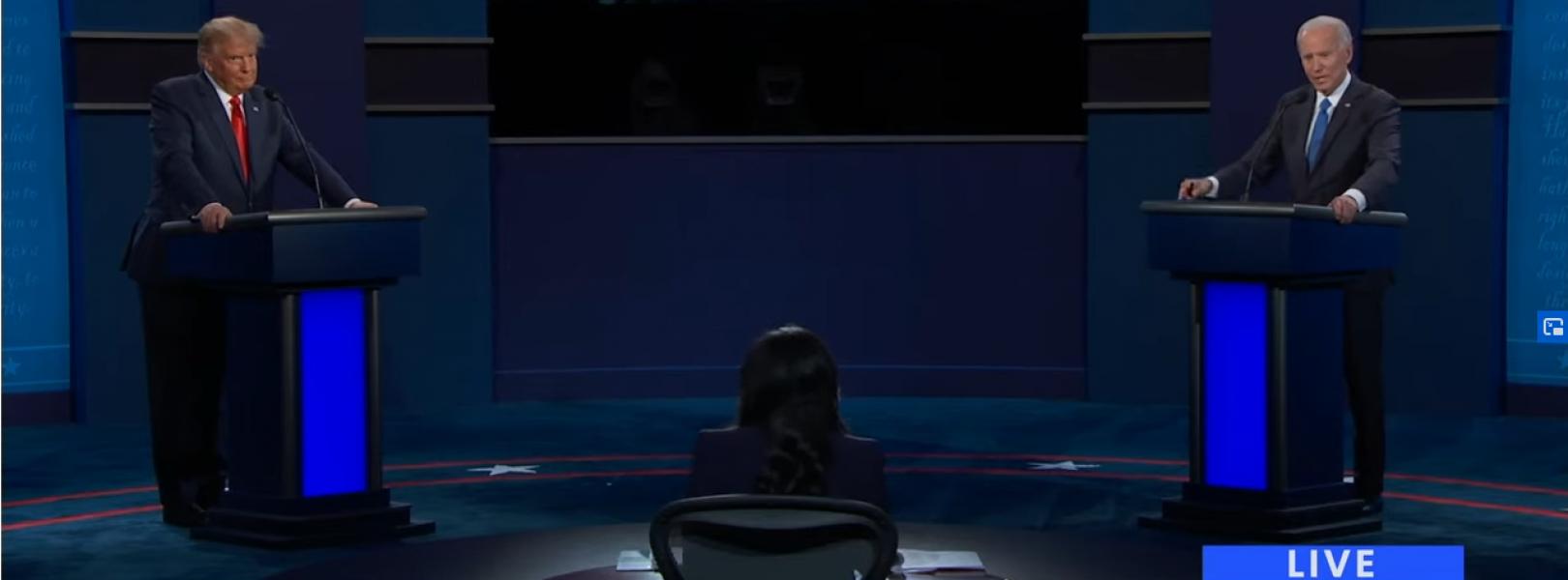 20201023 Presidential Debate