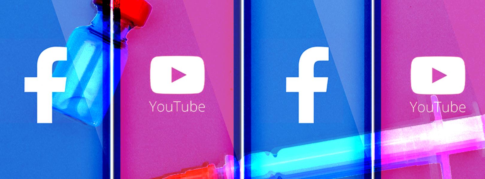 facebook youtube vaccine