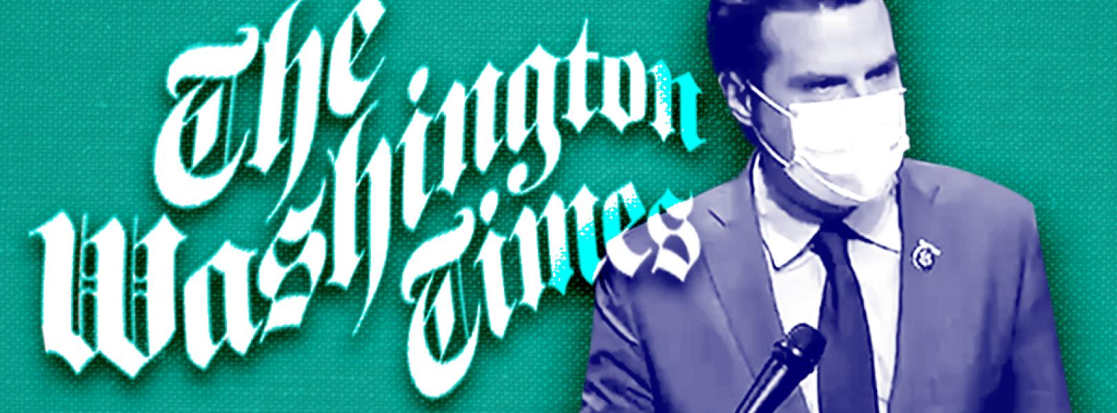 Matt Gaetz Washington Times