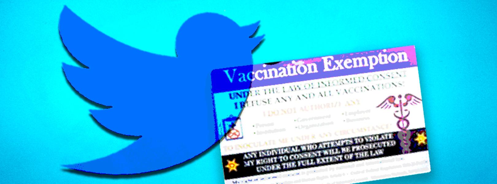 vaccine exemption twitter