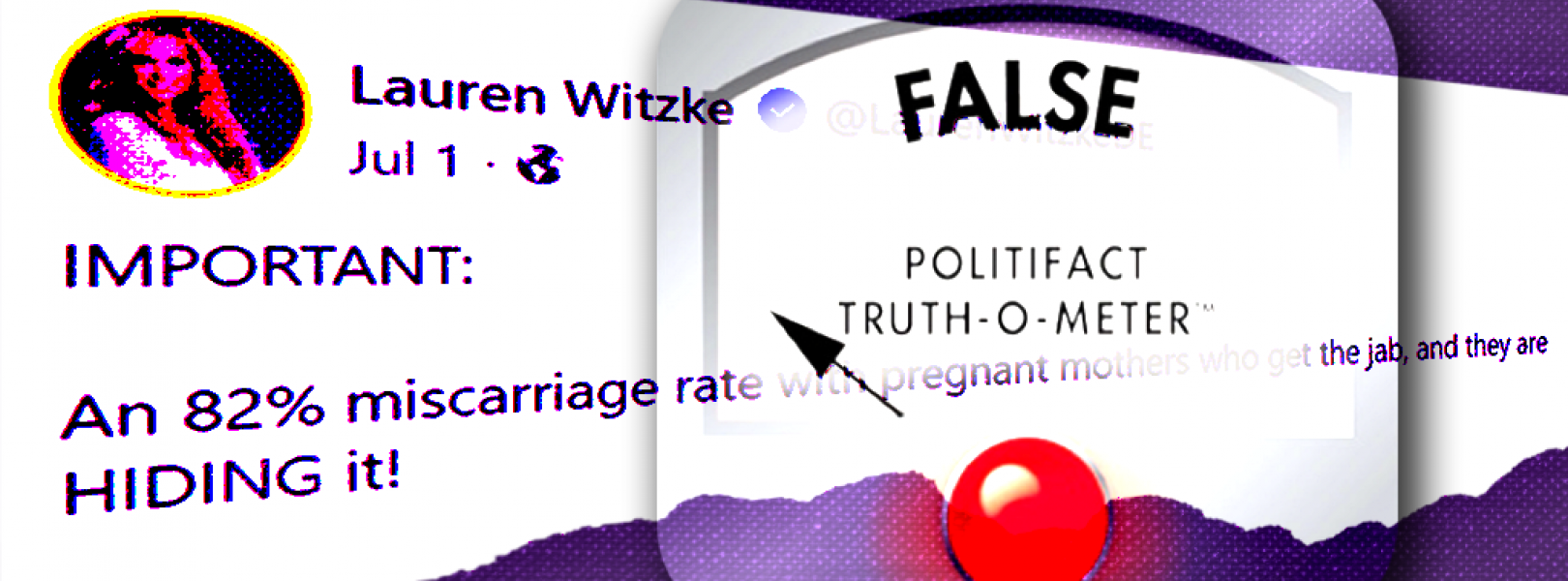 GOP Senate candidate Lauren Witzke spreading misinformation about COVID vaccines and pregnancies