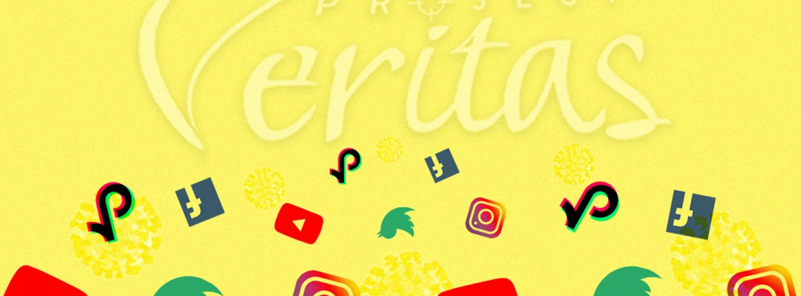 Project veritas_facebook_twitter_tiktok_youtube