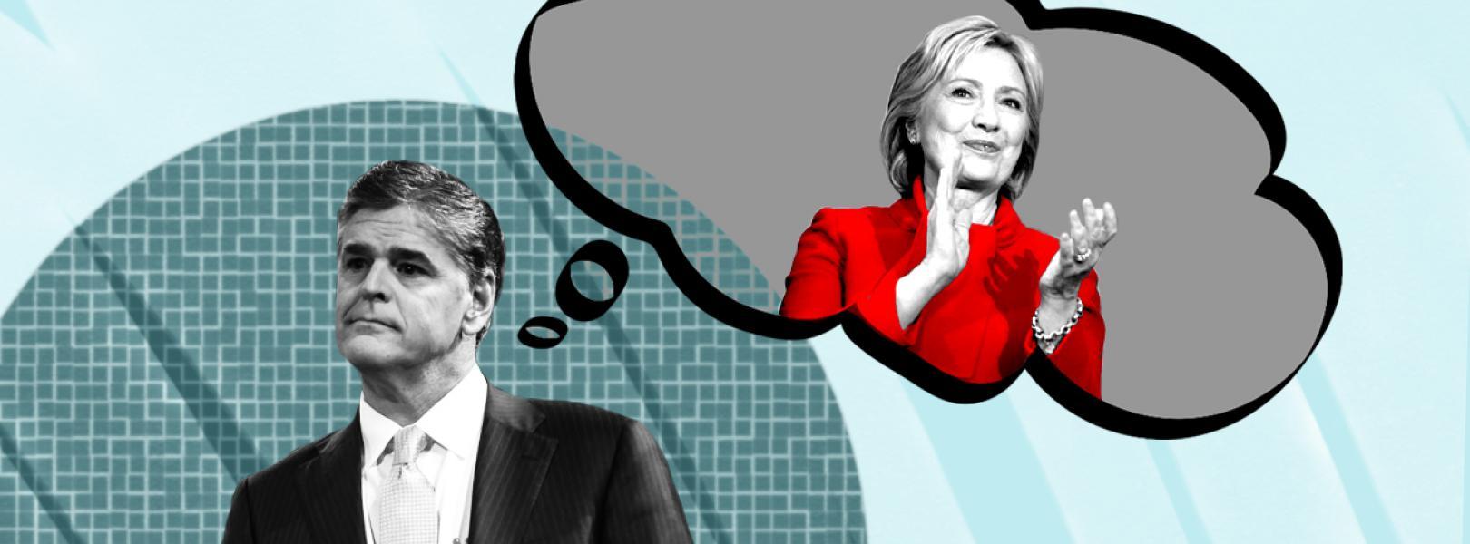 Sean Hannity Hillary Clinton