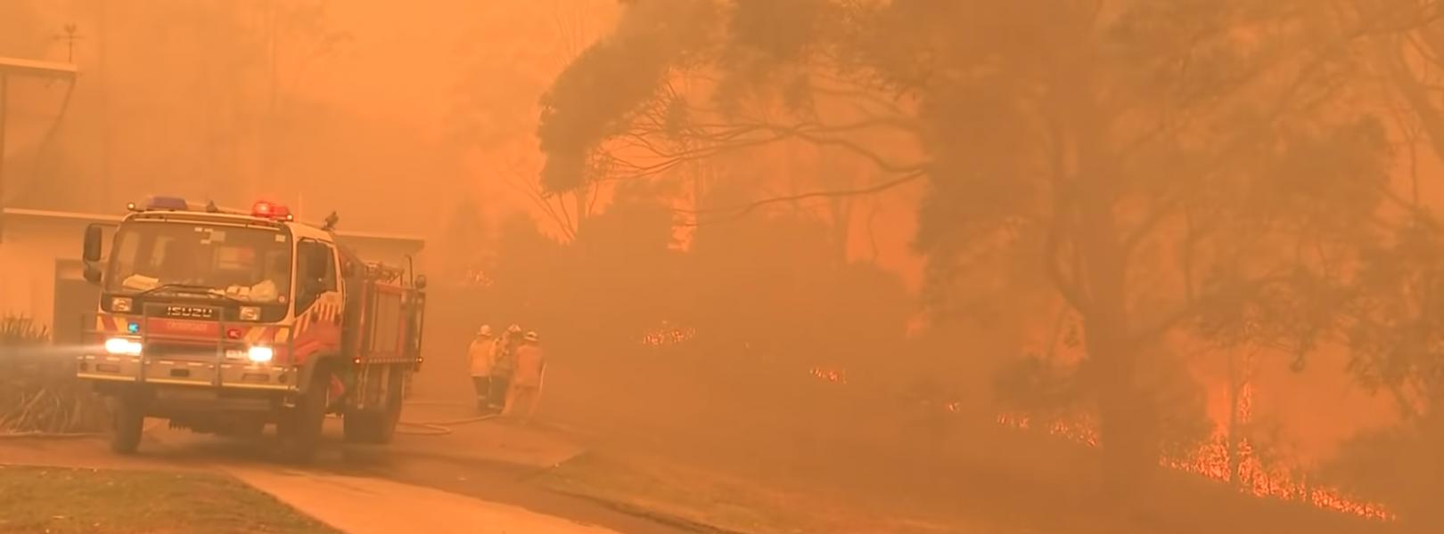 Amid raging bushfires, Rupert Murdoch's Australian media empire turns a blind eye to climate crisis