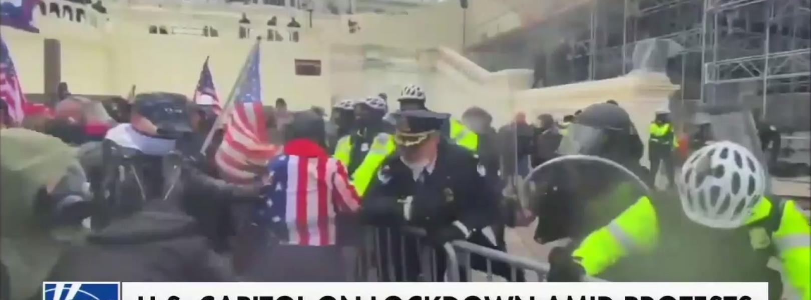 """Fox Calls mob """"protests"""" 1/6"""