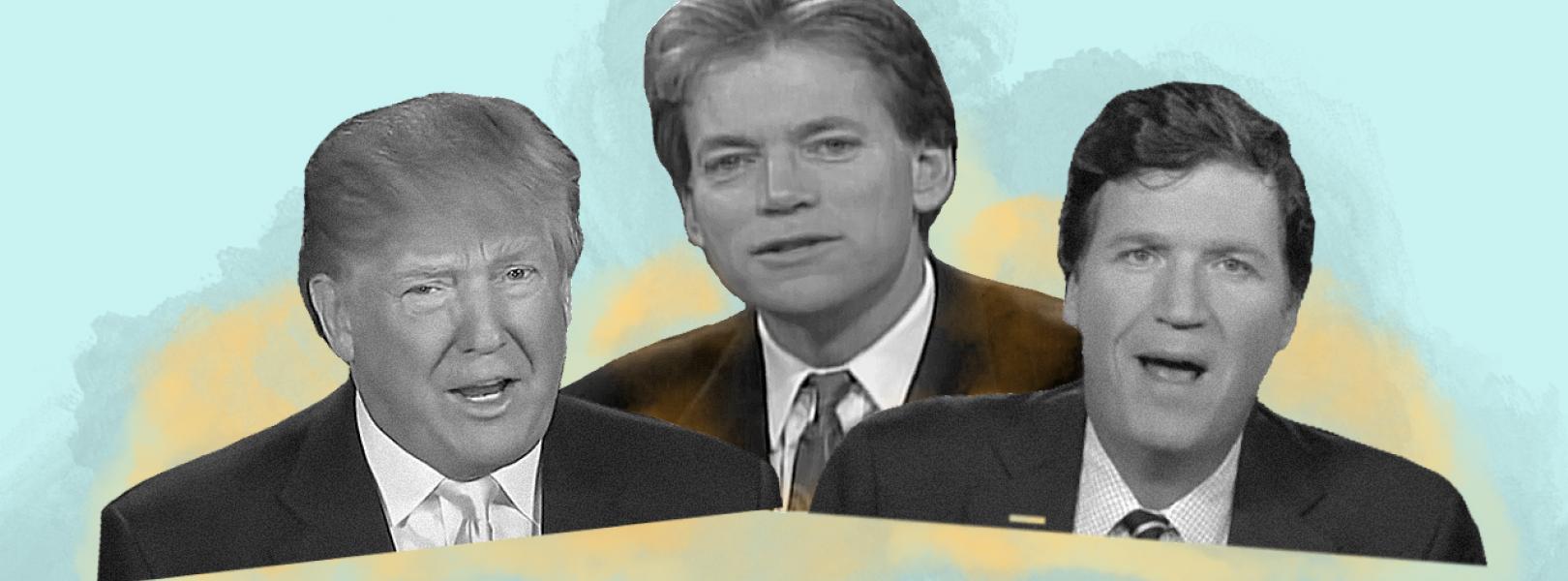 David Duke, Tucker Carlson, Donald Trump