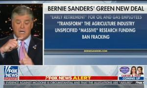 Hannity: Bernie Sanders will create a depression by getting rid of oil and gas