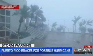 Andrea Mitchell reports Tropical Storm Dorian