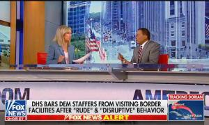 Fox News anchor Sandra Smith and Juan Williams - 08-29-2019