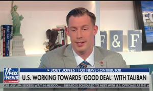 Fox News contributor Joey Jones