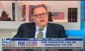 Fox Nation host Todd Starnes
