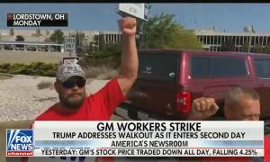 GM strike American's Newsroom
