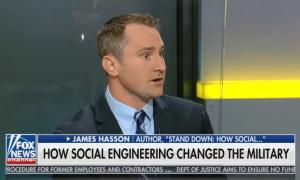 "Fox & Friends guest says ""social engineering"" of the military began with ""mixed gender infantry"""