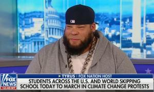 "Discussing the global climate strike, Fox Nation host says ""if it's preplanned ... it's not really a protest"""