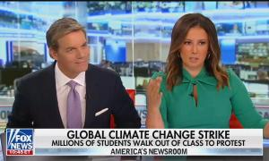 Fox News anchors Bill Hemmer and Julie Banderas