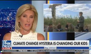 """Laura Ingraham compares Greta Thunberg and youth climate activists to Stephen King's """"Children of the Corn"""""""