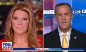"Fox Business' Trish Regan lets Corey Lewandowski claim Bernie Sanders and Elizabeth Warren ""want to have illegal aliens come across this border and kill Americans"""
