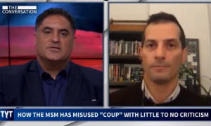 """On The Young Turks, Angelo Carusone explains how right-wing's """"coup"""" messaging is designed """"to stoke their extremists"""""""