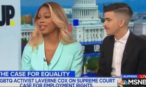 Laverne Cox and Chase Strangio