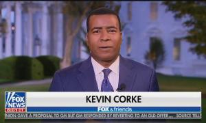 Fox News White House correspondent Kevin Corke