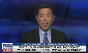 """Fox's Jason Chaffetz: """"The president and the White House are right to ignore those subpoenas"""""""