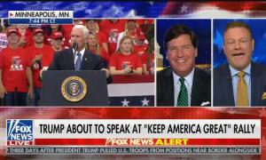 "Tucker Carlson and guest joke that Minneapolis is ""full of left-wingers named Ahmed"""