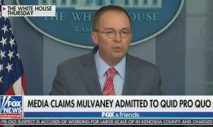 Mick Mulvaney press conference