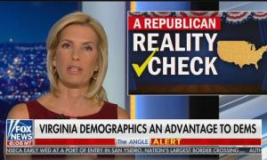 "Laura Ingraham blames GOP losses in Virginia on George Soros, ""demographic changes"" and ""foreign-born population"""