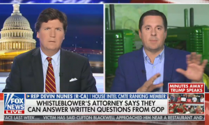 Tucker Carlson and Devin Nunes discuss whistleblower