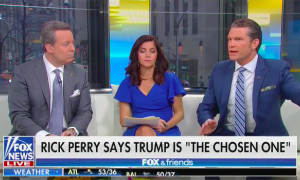 """Fox's Pete Hegseth: """"God has used imperfect people forever,"""" but what Trump """"has withstood is unlike what really any other mortal could understand"""""""