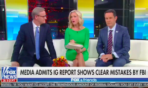 Fox & Friends keeps lying about the IG report's conclusions on the origins of the Russia investigation