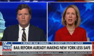 """Tucker Carlson guest: """"The criminal justice system, Tucker, is not racist"""""""