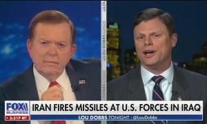 Lou Dobbs guest blames Obama for Iranian missile strike on American occupied military bases in Iraq
